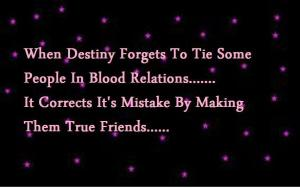 Destiny Friendship Quote